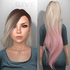 cc hair for sism4 sims 4 cc straight hair google search sims pinterest
