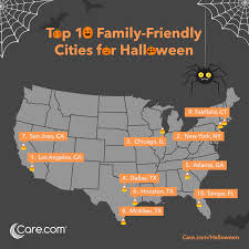 the 20 most family friendly cities for halloween in 2016 care