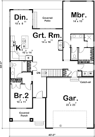 house plan 44175 at familyhomeplans com bungalow cottage craftsman house plan 44175 level one