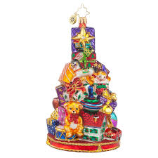 christopher radko ornaments 2016 radko glorious gift stack
