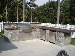 kitchen outdoor kitchen counter option with stainless steel