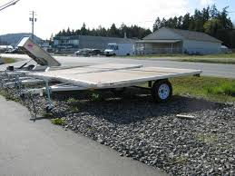 all aluminum 8x12 deck over sled deck outside metro vancouver