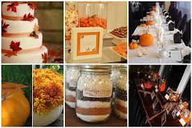 Fall Wedding Decoration Ideas A Bud cheap fall