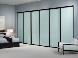 sliding closet doors with glass panels