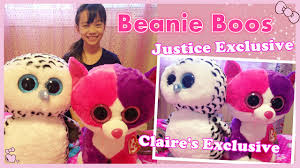 beanie boo collection justice u0026 claire u0027s exclusive large size