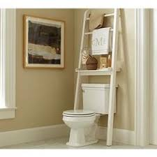 Leaning Bathroom Ladder Over Toilet by 10 Clever Ideas For A Tiny Bathroom Toilet Spaces And Space Saver