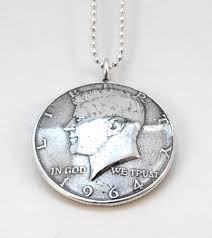 silver coin pendant necklace images Vintage baby boomers jpg