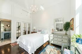 beautiful illumination in your bedroom using mirrored french