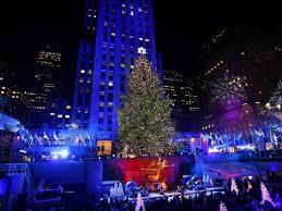 christmas christmas tree in rockefeller center live