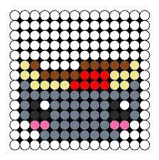 225 best perler beads kawaii images on pinterest bead patterns