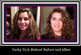 the curly method before and after pictures youtube