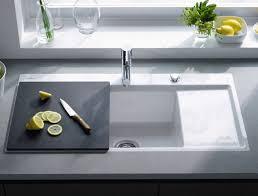 lavello cucina da incasso in ceramica con tagliere duravit