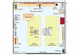 garage floor plan idea shop 2