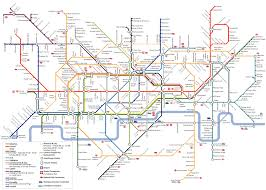 London Airports Map Metro Map