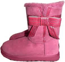 s ugg australia josette boots ugg australia josette bow boot fur lined shoe bootie 10 41 in