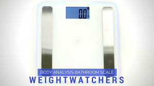 Weight Watchers Bathroom Scale Weight Watchers By Conair Body Analysis Bluetooth Digital