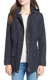 barbour kinnordy waterproof hooded jacket nordstrom