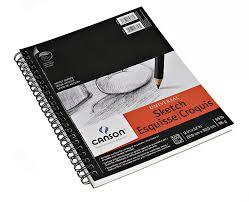 amazon com canson artist series universal sketch pad 9