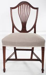 Ideas For Hepplewhite Furniture Design Set Of 4 Inlaid Hepplewhite Style Dining Chairs Georgian