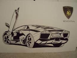 lamborghini car drawing car drawings lamborghini reventon 555 car drawings