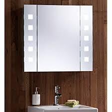Bathroom Demister Mirror Led Illuminated Bathroom Mirror Cabinet With Concealed Demister