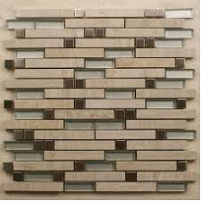 Stone Mosaic Tile Kitchen Backsplash by Stone Glass Tiles For Kitchen Bathroom Wall And Backsplash