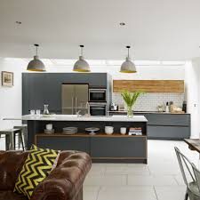 Living Room With Kitchen Design Open Plan Kitchen Design Ideas Ideal Home
