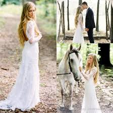 garden wedding dresses bohemian summer garden wedding dresses vintage lace