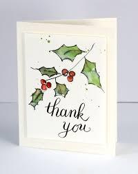 botanical postcard hand drawn plant on christmas card black and