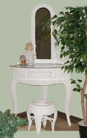 Wicker Vanity Set Small Corner Vanity Table Table Beautiful Small Accent Table