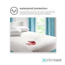 Incontinence Sheets Mattress Covers by Allerease Waterproof Mattress Encasement Walmart Com