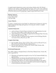 basic resume exles for health care administration resume striking entry levelthcare