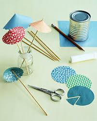 How To Make Paper Umbrellas - festive drink umbrellas paper umbrellas craft and cocktail