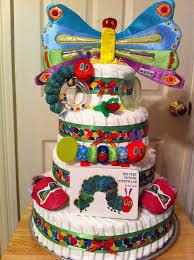 very hungry caterpillar diaper cake baby shower diaper cakes