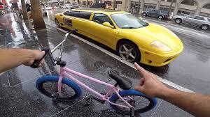 ferrari bicycle car i spotted the weirdest ferrari ever in hollywood youtube