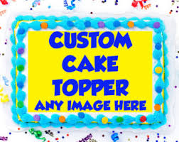 custom edible images custom edible cake cupcake and cookie toppers by fondantfairy