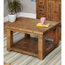 Pine Side Table Coffee Table Rustic Pine Coffee Table With Storage Parquet