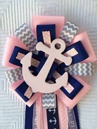 Nautical Themed Ribbon - nautical baby shower favor bags bags anchor charms and