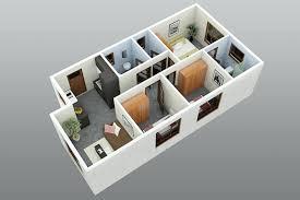3 Bedrooms House Plans Designs House Design Plans House Plan Design 3d With 2nd Floor