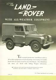 vintage land rover ad épinglé par glenn russell sur land rovers then the rest