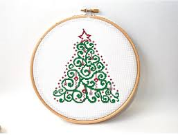 15 festive christmas cross stitch patterns