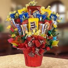 happiness delivered life love inspire sweet bouquet of candies