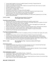 Assistant Buyer Resume Examples by Buyer Expeditor C Sikora Resume