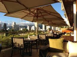 Outdoor Lanai by Taste Of Hawaii Wai U0027olu Trump Waikiki