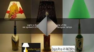 Designer Table Lamps Lampshade Designs Table Lamp Shade Sandhya Shevade Creations
