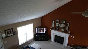 paint in open floor plan