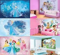 photo wall mural wallpapers kids room disney frozen princess elsa