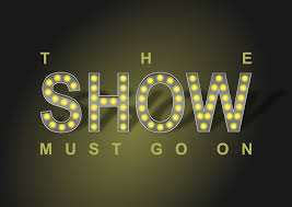 the show must go on clip at clker vector clip