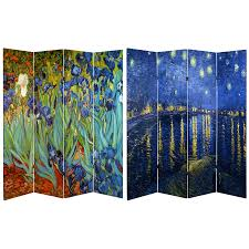 7ft room divider canvas room dividers buy online at roomdividers com