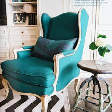 Blue Wingback Chair Design Ideas Blue Wingback Chair Design Ideas